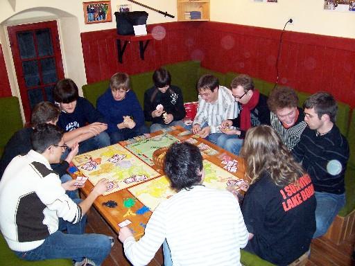 04.01.08 - Brettspielabend mit Bildvortrag zu Äthiopien